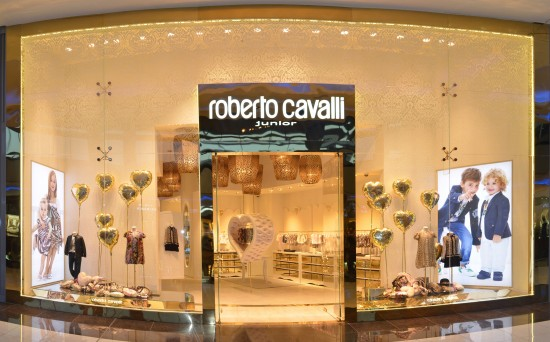 Roberto Cavalli Junior @ Dubai Mall