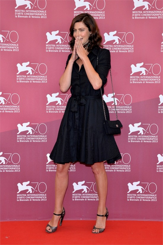 Anna Mouglalis in Chanel