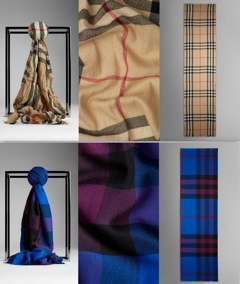 collage burberry