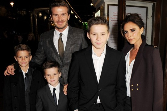 beckham-family-holiday