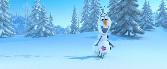 """FROZEN"" (Pictured) OLAF. ©2013 Disney. All Rights Reserved."