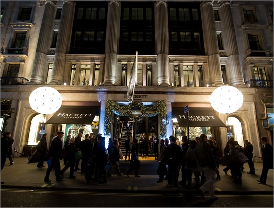 Hackett Store Launch Regent Street, London