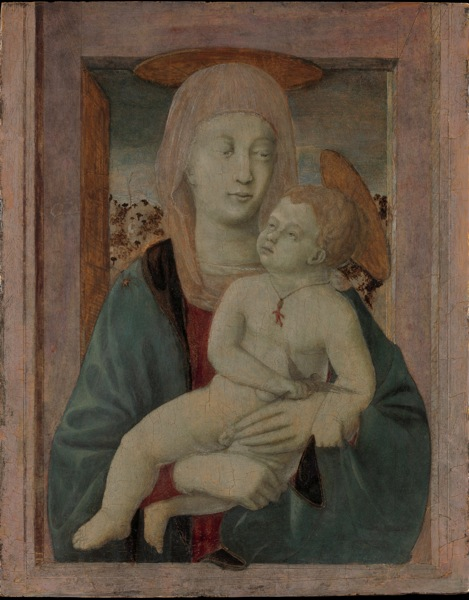 Piero della Francesca (Tuscany 1412? – 1492 Tuscany) Madonna and Child Tempera on wood, 20 7/8 x 16 1/8 in. (53 x 41 cm) The Alana Collection