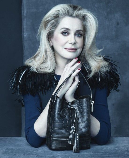 Louis Vuitton_Catherine Deneuve_ADV PE 2014_1