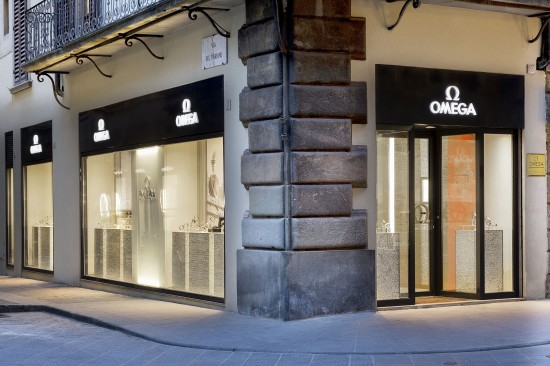 OMEGA 2014 Boutique Firenze