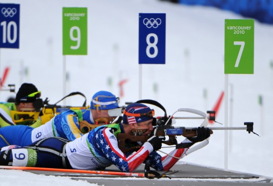 Starting Glitch Costs Teela in Olympic Biathlon