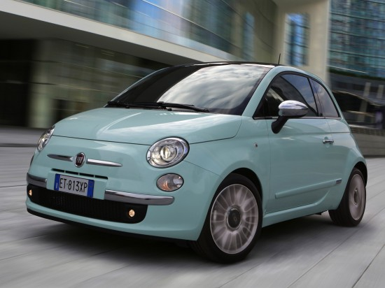2014 Fiat 500 Cult Car HD Wallpapers