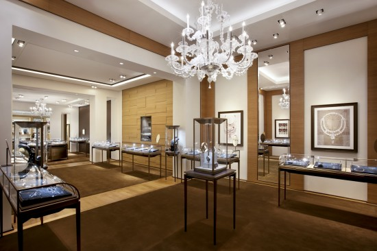 Cartier boutique Las Vegas