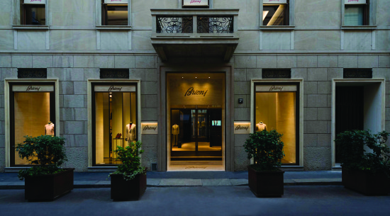 Brioni boutique_Milan_1