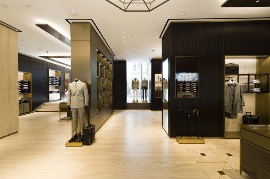 Brioni boutique_Milan_2