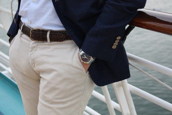 Details | Belt: Ralph Lauren | Watch: Longines
