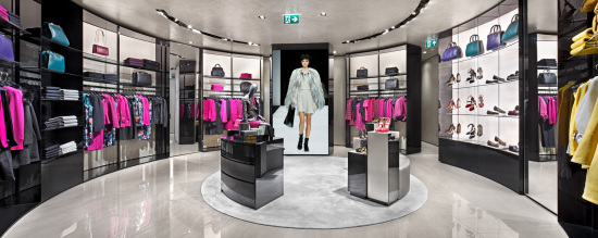 Emporio Armani Womenswear inside - credit Duygu Arseven