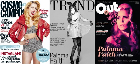 Paloma covers