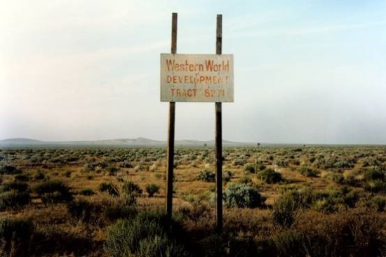 Western World Development, Near Four Corners, California © Wim Wenders
