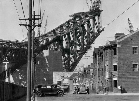 Sydney Harbour Bridge from the South Side, 1930, Australia Modern Digital Print © E.O. Hoppé Estate Collection / Curatorial Assistance