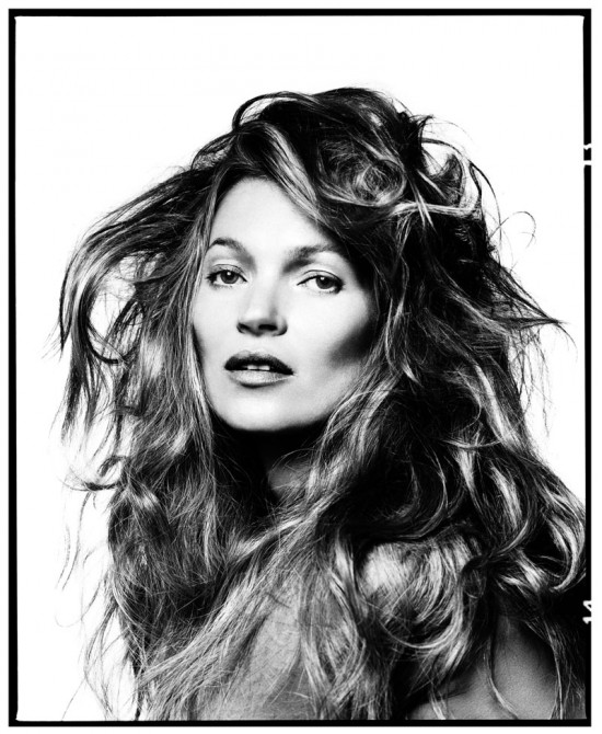 Kate Moss, 2013 © David Bailey