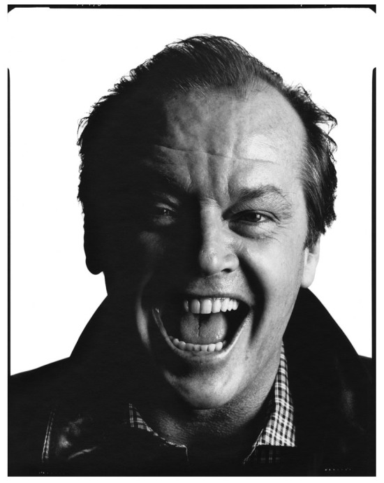 7. Jack Nicholson, 1984 © David Bailey