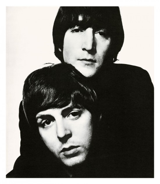 John Lennon and Paul McCartney, 1965 © David Bailey