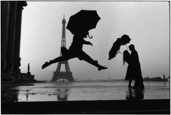 Tour Eiffel 100th Anniversary, Paris France, 1989 © Elliot Erwitt