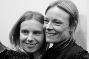Katie Hillier and Luella Bartley
