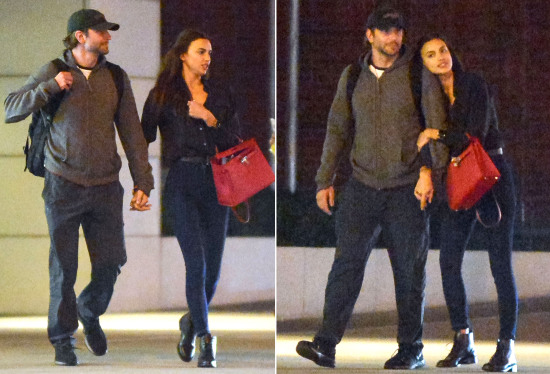 Exclusive... First Look: Bradley Cooper & Irina Shayk Confirm Relationship With PDA Filled Night Out **ADD FEES**