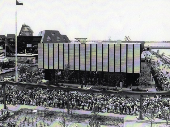 Coda all´ingresso Montreal 1967