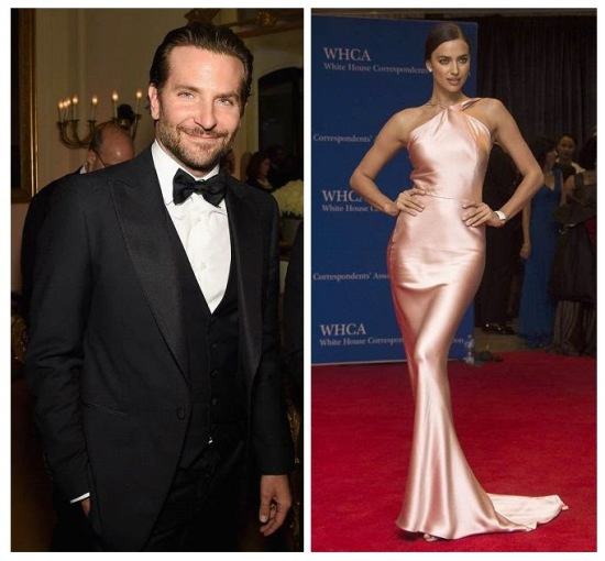 Irina Shayk and Bradley Cooper're first public appearance at New York on Wednesday, April 22, 2015 00