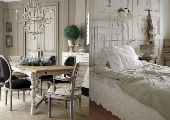 arredare in stile shabby chic luuk magazine. Black Bedroom Furniture Sets. Home Design Ideas