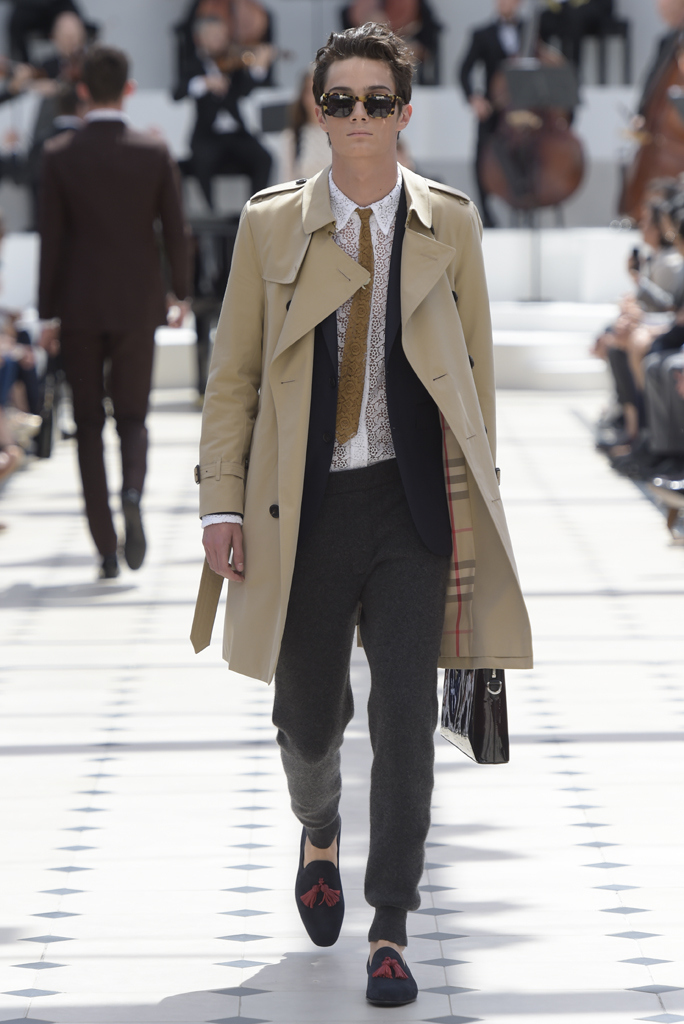 Burberry Prorsum Men's RTW Spring 2016
