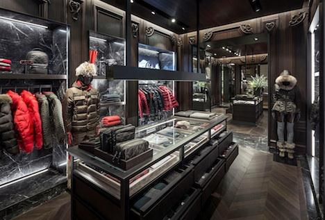 Moncler sbarca a boston luuk magazine for Showroom moncler milano