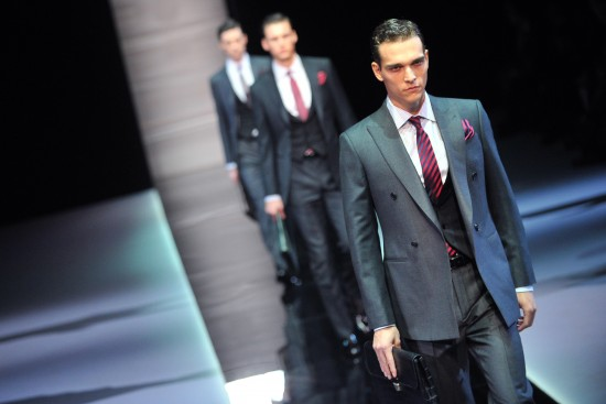 FASHION-ITALY-MILAN-MEN-GIORGIO ARMANI