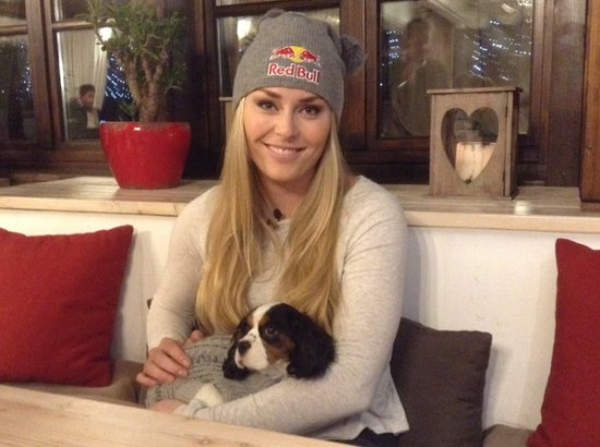Lindsey Vonn e Lucy