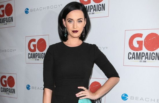 Katy Perry arrives at the 8th Annual GO Campaign Gala