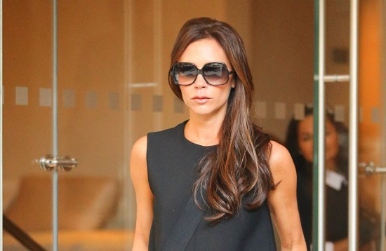 Victoria Beckham spotted leaving her hotel in New York City