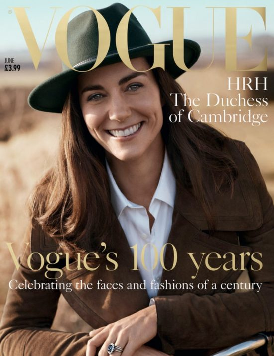 Kate Middleton sulla cover di Vogue UK