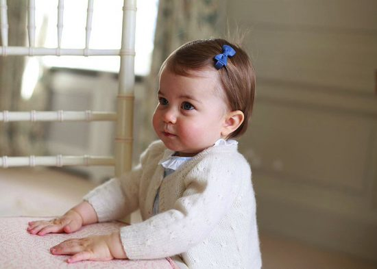 Charlotte Elizabeth Diana in occasione del suo primo compleanno (ph. HRH The Duchess of Cambridge)