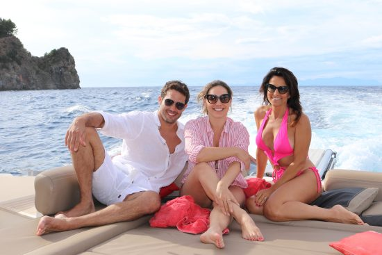 Kelly Brook, Jeremy Parisi e Annalaura di Luggo