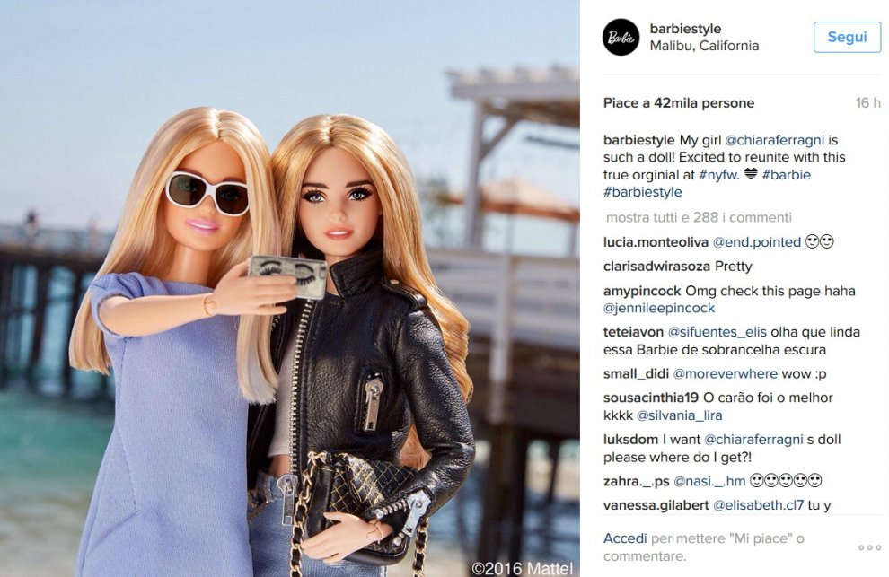 Chiara Ferragni, da fashion blogger a Barbie Style