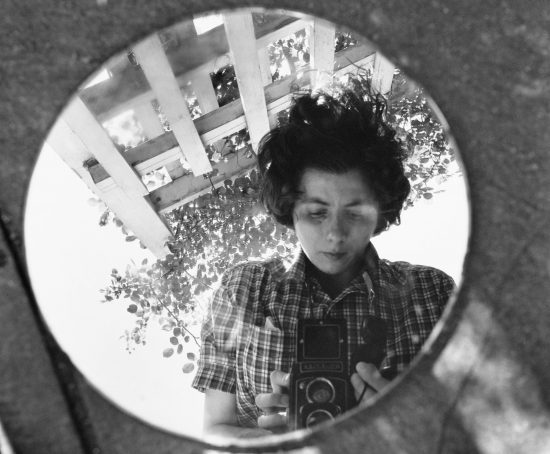 Vivian Maier, Self-Portrait, Undated, 40x50 cm(16x20 inch.), © Vivian Maier/Maloof Collection, Courtesy Howard Greenberg Gallery, New York