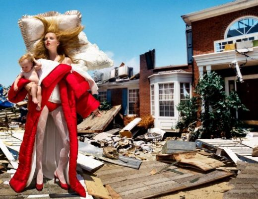 Heather Marks by David LaChapelle in The House at the End of the World, 2005; Viktor&Rolf, Bedtime Story ready-to-wear collection, F/W 2005; Foto David LaChapelle
