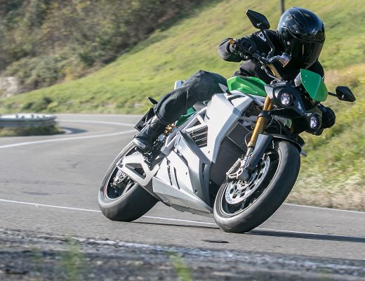 Energica Eva the Electric Streetfighter