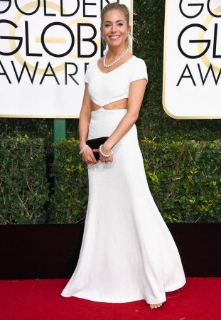 Sienna Miller in Michael Kors Collection.