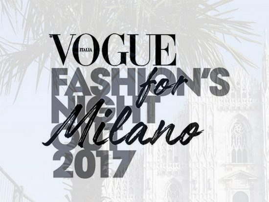 A Milano parte la IX edizione di Vogue Fashion's Night